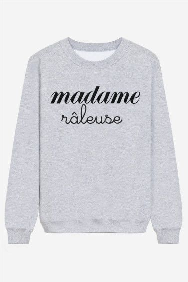 Madame Râleuse - brodé