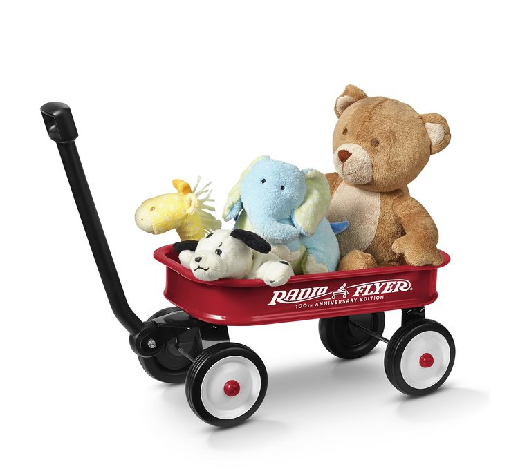 Little Red Toy Wagon: 100th Anniversary