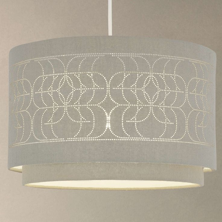 BuyJohn Lewis Easy-to-fit Arvid Ceiling Shade, Khaki Online at johnlewis.com