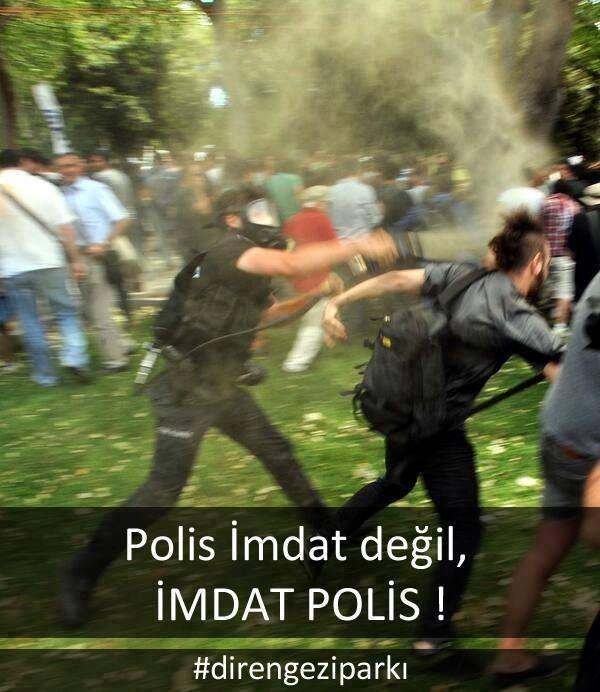 Taksim Gezi Parkı direnişi!!!!!!
