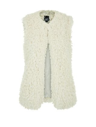 It's an autumn wardrobe must-have - layer our Teens Cream Faux Fur Gilet over dresses, jumpers and even jackets for extra warmth. £19.99 #newlook #fashion