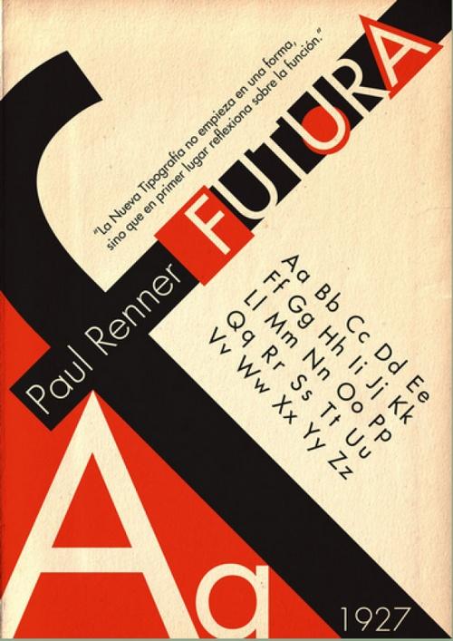Paul Renner, creador de la tipografía Futura