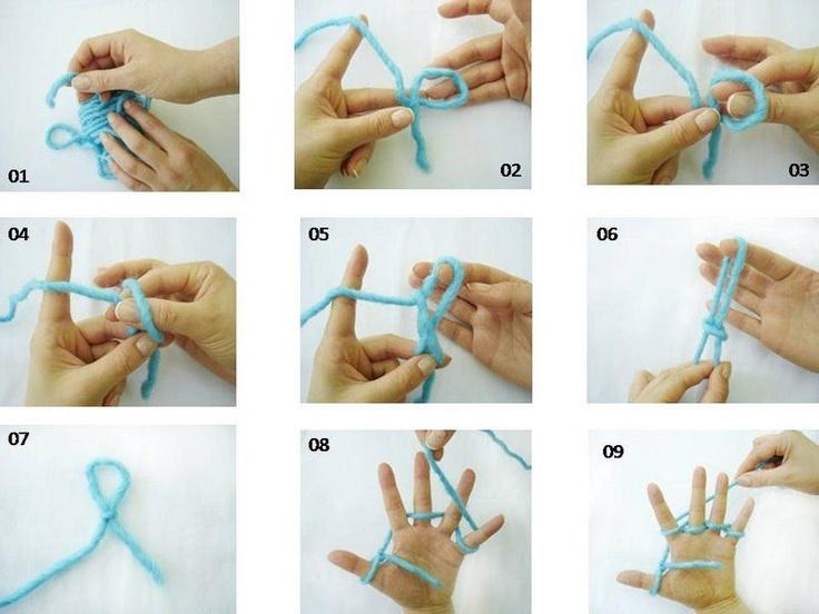 como tejer con los dedos - Taringa!