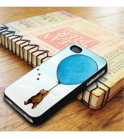 Winnie The Pooh Balloon Fly In Sky iPhone 5|iPhone 5S Case