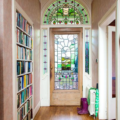 Hallway with bookshelves | How To Display Books | Easy To Steal Ideas | Interiors | redonline.co.uk