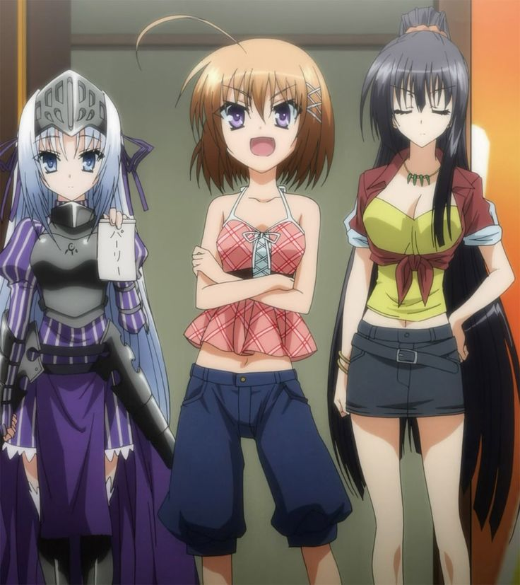 Eu, Haruna, and Seraphim- Is this a Zombie? | Kore wa ...