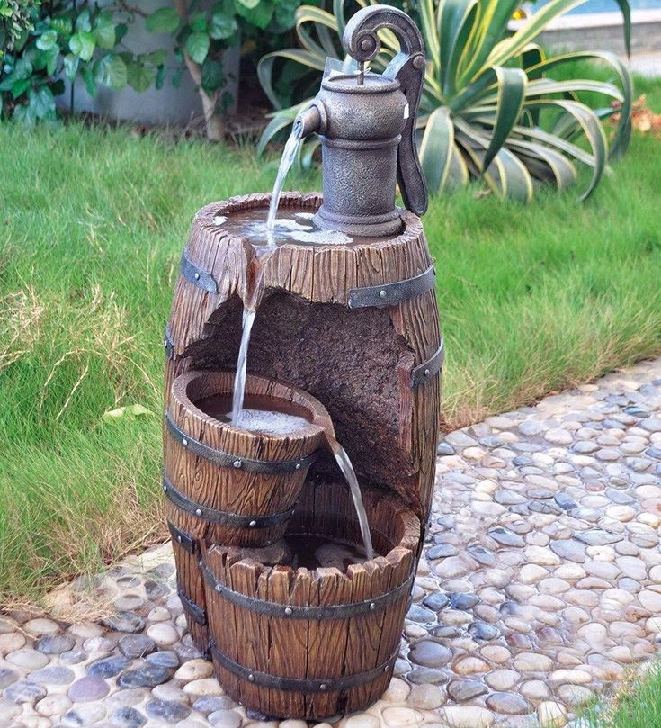 3 urn cartwheel water feature diy pond fountain water