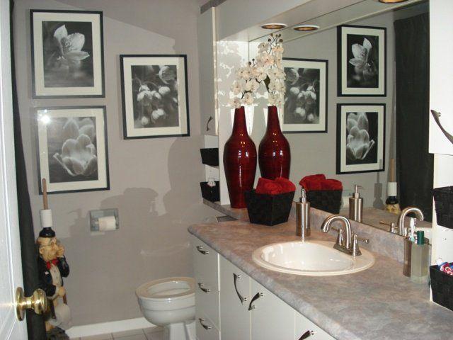 mobilier de salle de bain pas cher et idée de décoration pour petit espace