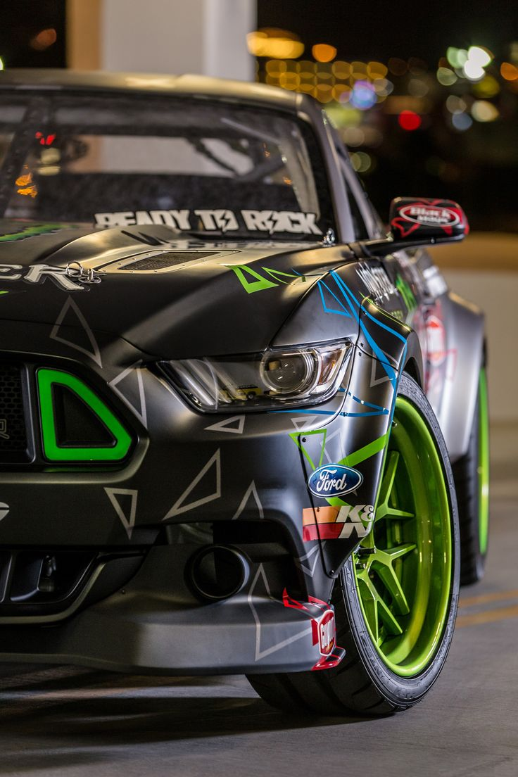 SEMA 2015: Vaughn Gittin Jr Reveals 2016 RTR Ford Mustang Competition Car (Gallery) | MotorworldHype