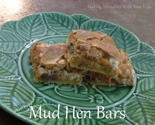 Mud Hen Bars from Making Memories With Your Kids