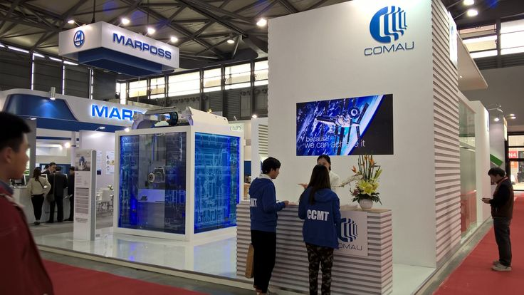 """The 9th #China CNC Machine Tool Fair 2016 was held April 11 - 15, 2016 with the theme """"New Change. New Future"""". As one of the important members of the machine industry, #Comau showcased in its booth one of its best products, Urane 25, and announced the availability of the new SmartDrive800L in the APAC market. http://ow.ly/4mO3bv http://ow.ly/4n7pOF"""
