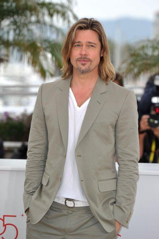 Ewig schön: Brad Pitt gilt als Sexsymbol, egal, wie alt er ist, welche Frisur er hat oder was er trägt.