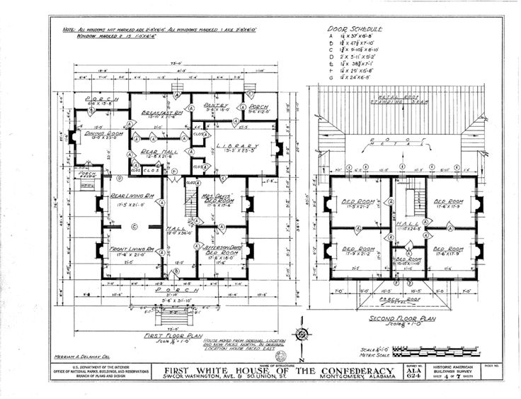 White House First White House Of The Confederacy White House Floor Plan First Floor Excellent Original File 4 House Floor Plans How To Plan Best House Plans
