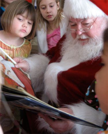 Image result for christmas brunch meet santa claus