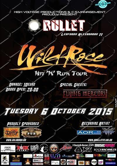 Wild Rose, Flying Mercury – live @ Bullet Cafe Club
