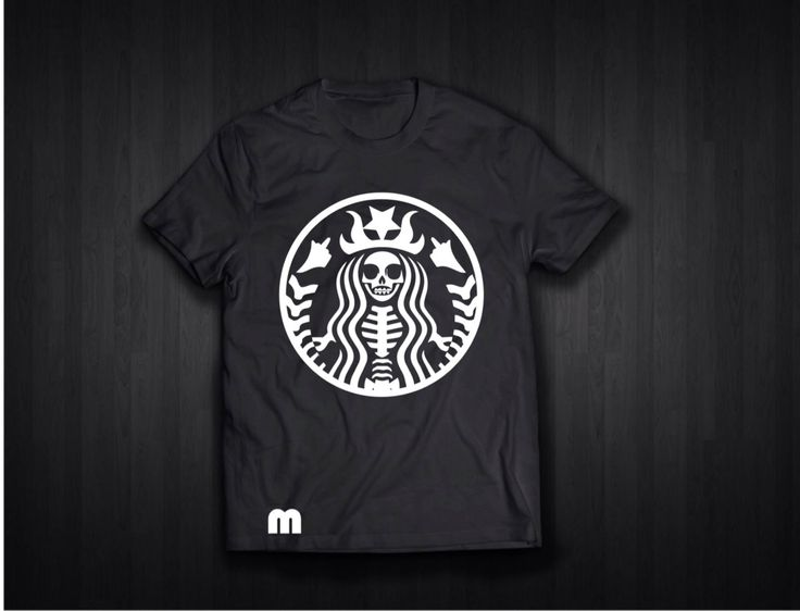 A personal favorite from my Etsy shop https://www.etsy.com/listing/558362697/starbucks-t-shirt