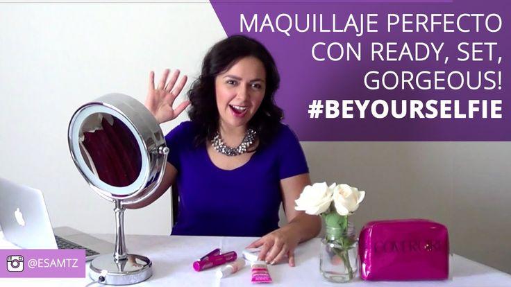 Logra un maquillaje perfecto con Ready Set Gorgeous de @Covergirl_Mx #Be...