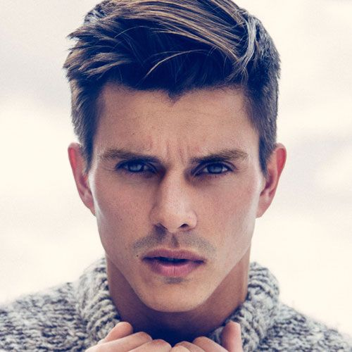 Hairstyle For Men 108 Best Slop Top Images On Pinterest  Men's Cuts Gray Hair And
