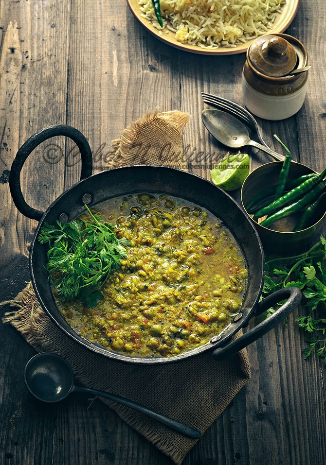 Matar ka nimona is traditional spicy green peas curry from Uttar Pradesh made especially during winters.It is easy to cook with flavours at its best.