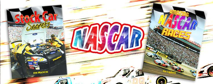 Nascar series (Crabtree Publishing)_ This exciting series puts young readers in the driver's seat and takes them for a thrilling ride through the wildly popular sport of NASCAR. Grades 3-6