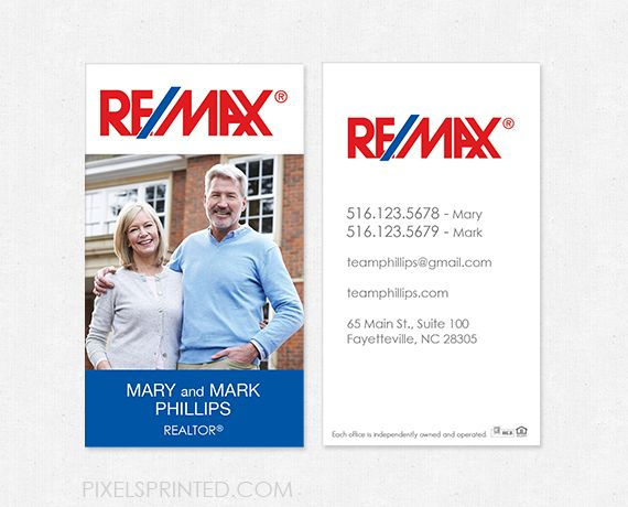 16 best business card images on pinterest real estate for Best remax business cards