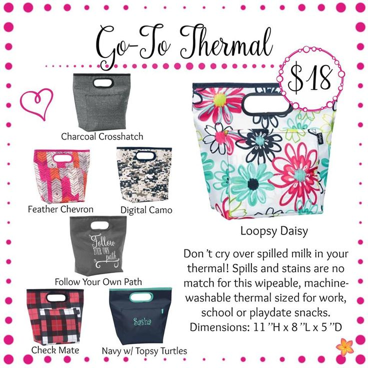 Go-To Thermal - Thirty-One Gifts - Spring / Summer 2017