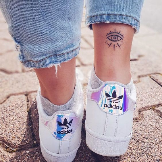 24 small ankle tattoos that you can copy; Flower ankle tattoos; cute tattoos; sim