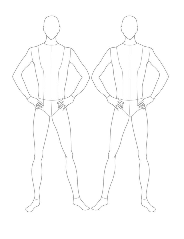 costume drawing template - Forte.euforic.co