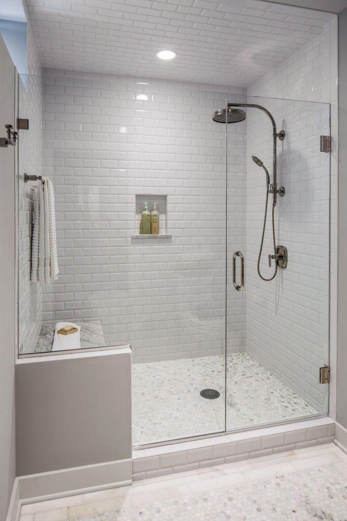Bathroom Shower Tile Ideas Pinterest Shower Remodel Bathroom Remodel Small Shower Small Shower Remodel