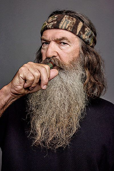 5 phil robertson today  - duck dynasty then and now