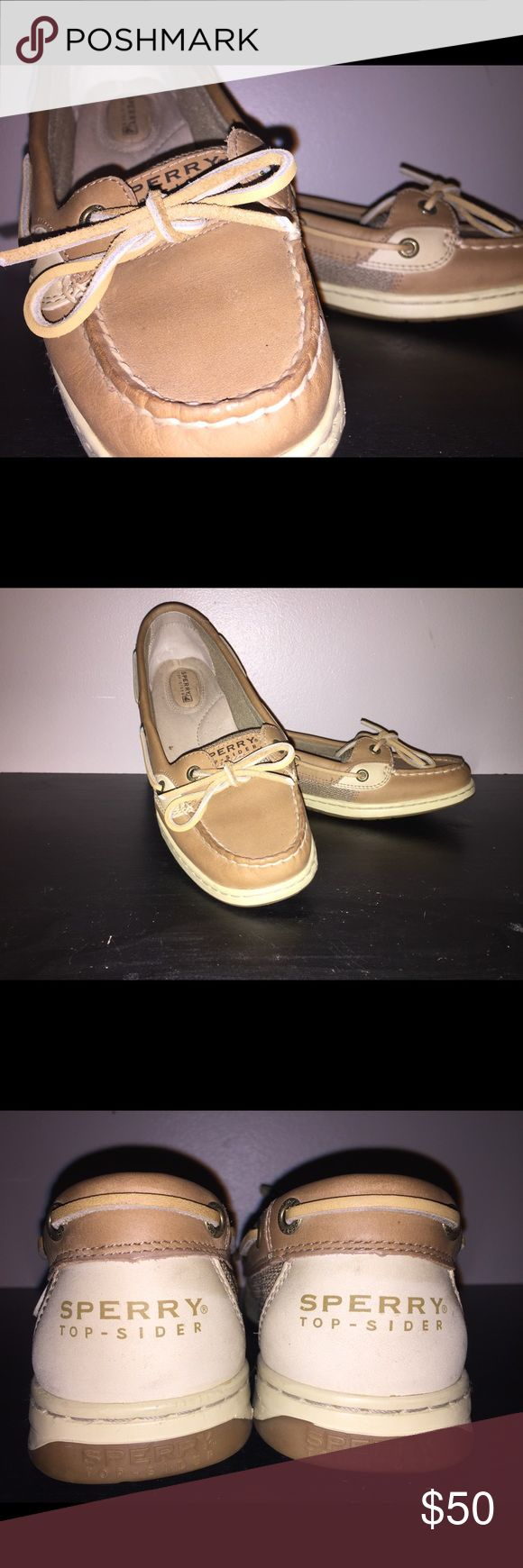Sperry Women's Angelfish Boat Shoe Size 9. Worn 3 times. Look relatively new. Sperry Shoes Flats & Loafers