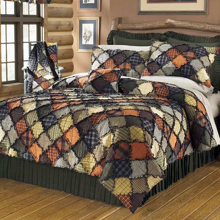 Woodland Quilt - Jackie likes these colors for dog house