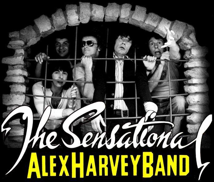 The Sensational Alex Harvey Band - Home Page.