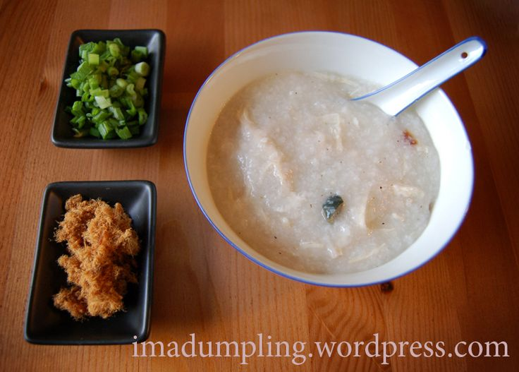 how to cook congee for baby