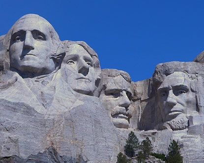 Mount Rushmore, one of the many places I visited back in my 1999 trip to South Dakota.  Can I go back?
