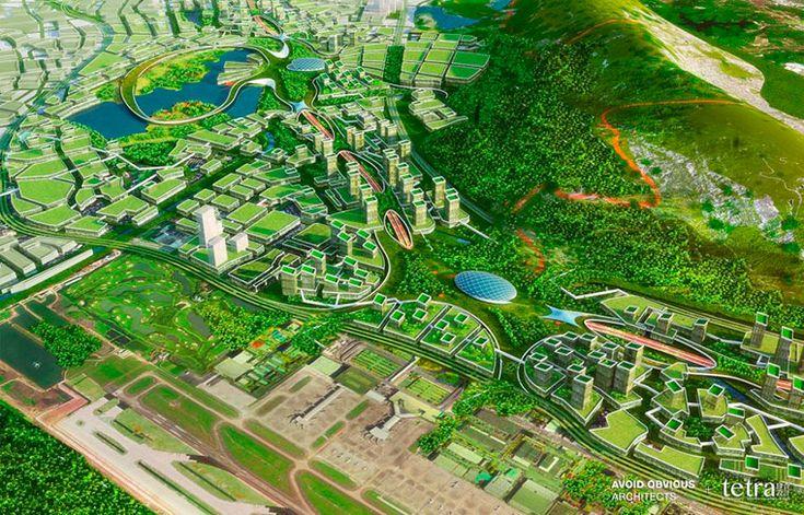 Власти китайского Шэньчжэня планируют превратить старое городское шоссе в мультимодальную транспортную систему, предназначенную для передвижения транспортных средств будущего.