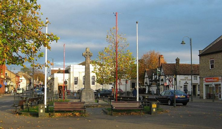 Biggleswade town centre