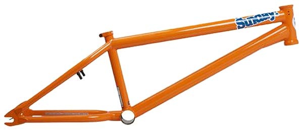 Sunday Funday 2 2012 Frame Orange