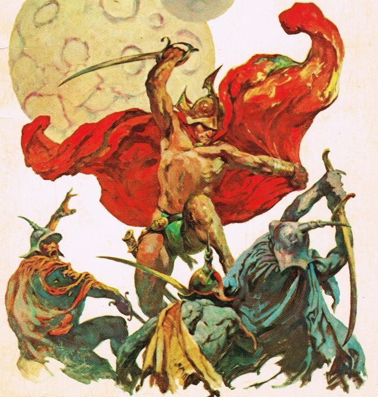 173 Best Images About :. Frank Frazetta .: On Pinterest