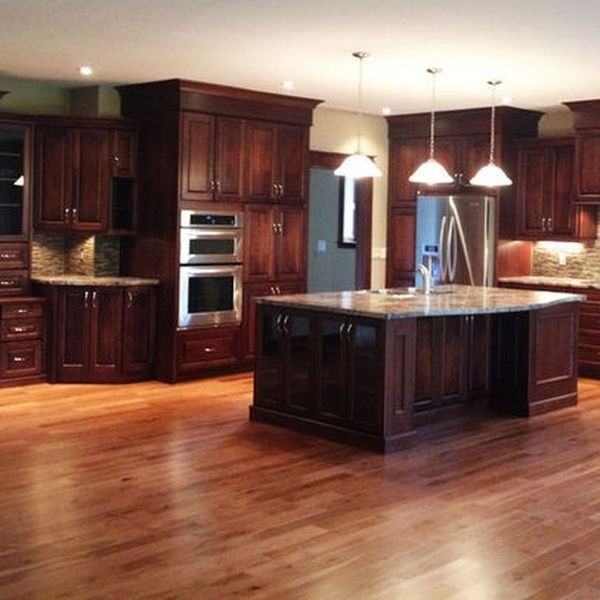 Red Cherry Wood Kitchen Cabinets: Best 25+ Cherry Wood Cabinets Ideas On Pinterest
