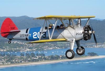 Stearman Scenic Flight - Tauranga