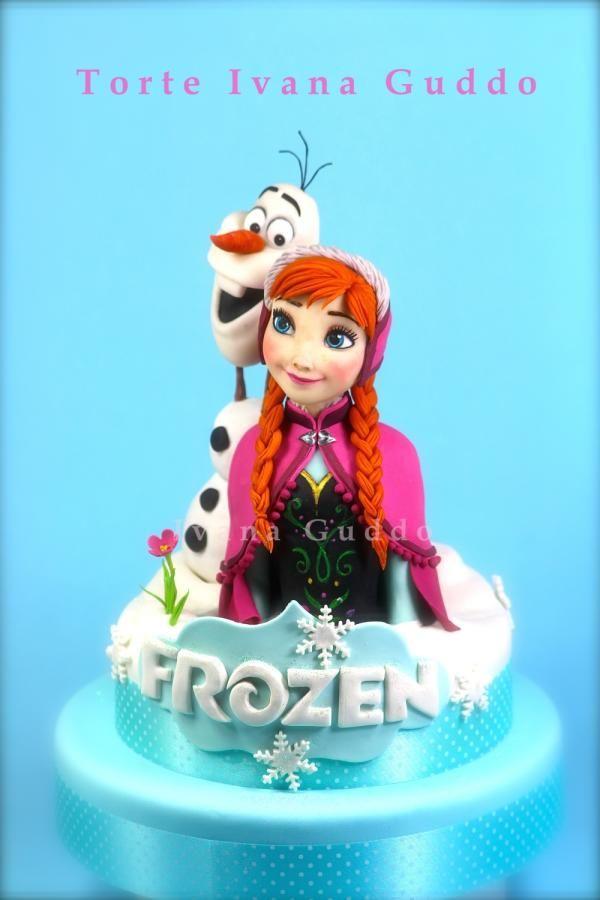 anna et olaf de la reine des neiges