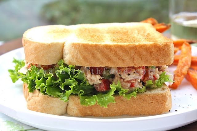 Favorite Sandwiches, Tuna Salad Sandwiches, Culinary Delights ...