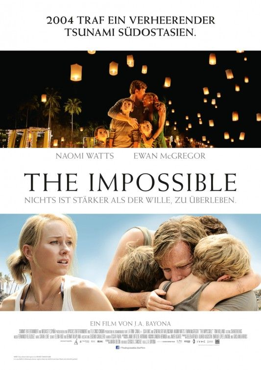 The Impossible (Directed by J. Bayona, Cinematography by Óscar Faura)
