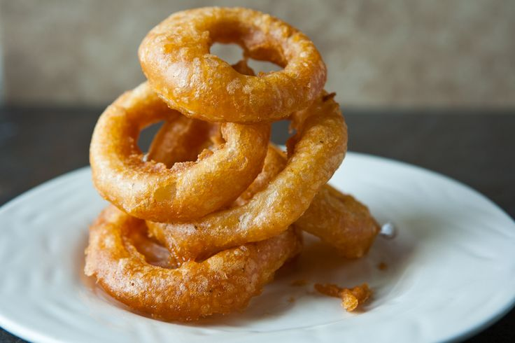 Beer Battered Onion Rings - Yes please!