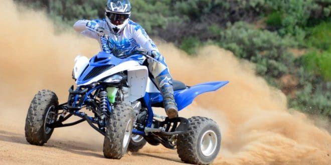 Quad Yamaha 700 raptor le 2 roues motrices en puissance