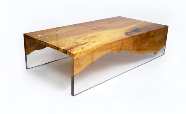 Wood and glass coffee table designs woodworking projects for Coffee tables b m