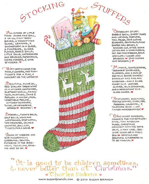 windmillsnat: Stocking Stuffers By Susan Branch