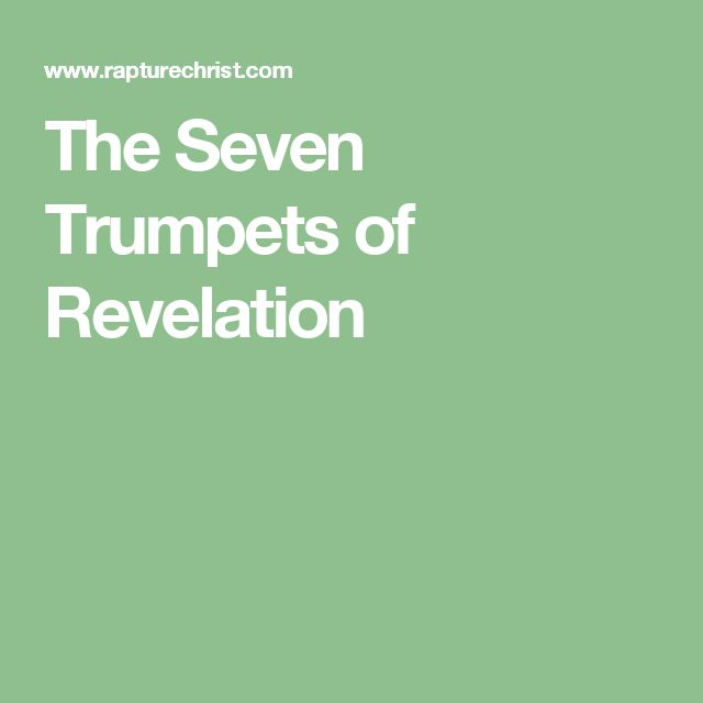 The Seven Trumpets of Revelation