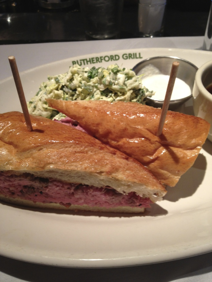 The amazing French Dip at the Rutherford Grill!